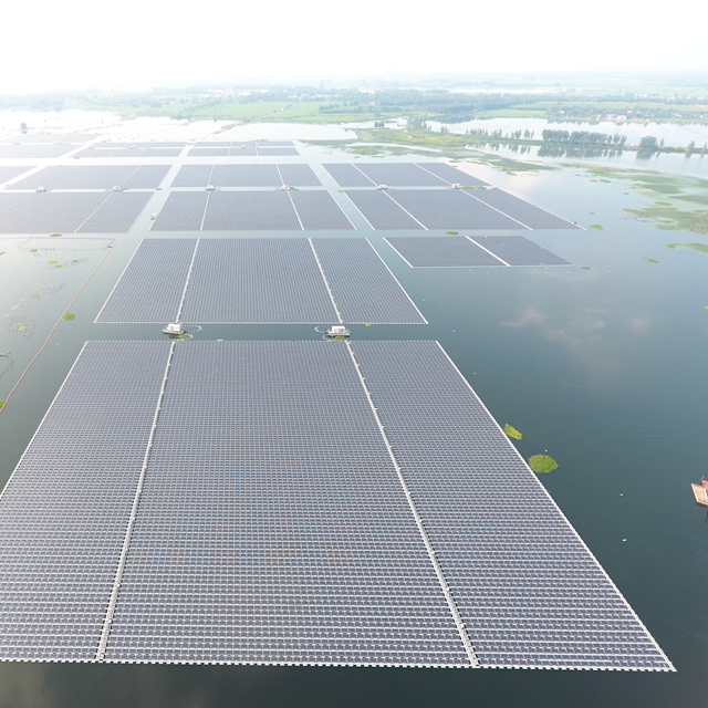 Floating Solar Power Plant China